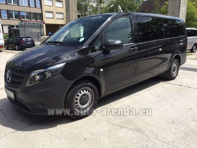 Transfer from Courchevel to Annecy by Mercedes Vito Long (1+8 Pax) AMG equipment car
