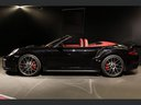 Rent-a-car Porsche 911 991 Turbo Cabrio S LED Carbon Sitzbelüftung with its delivery to Courchevel 1300, photo 3
