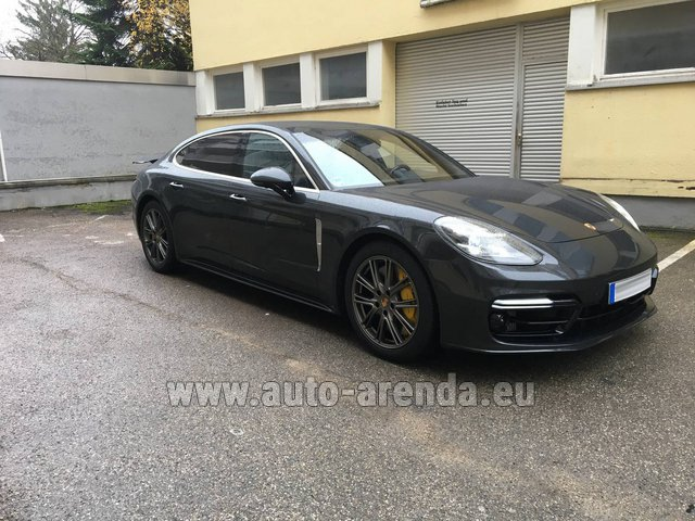 Rental Porsche Panamera Turbo Executive in France