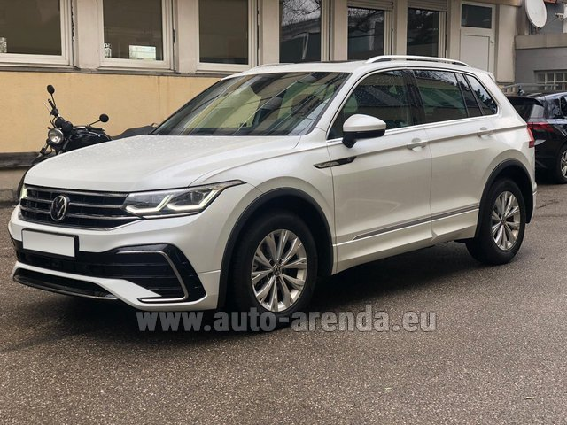 Hire and delivery to Courchevel the car Volkswagen Tiguan R Line 2.0 TSI 333 hp