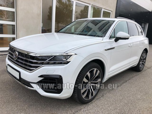 Hire and delivery to Courchevel the car Volkswagen Touareg 3.0 TDI R-Line