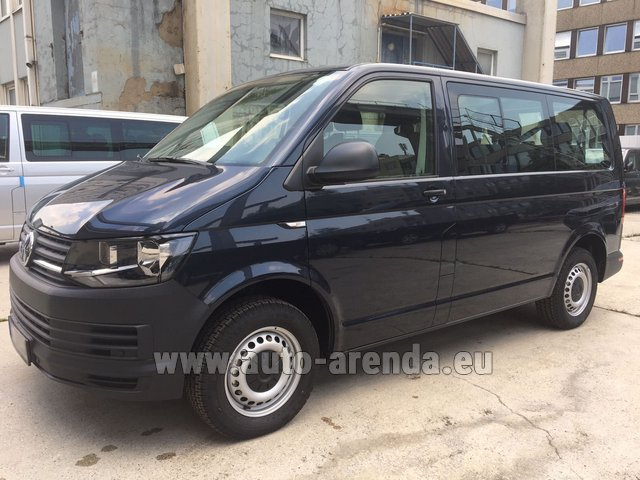 Rental Volkswagen Transporter T6 (9 seater) in Antibes