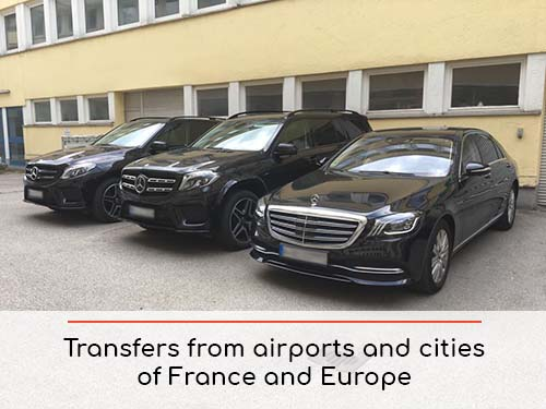 Transfers from airports and cities in France and Europe | Car rental with driver