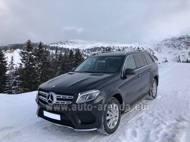 Трансфер из Аэропорта Гренобль Альп Изер в Лез-Арк на автомобиле Мерседес-Бенц GLS BlueTEC 4MATIC комплектация AMG (1+6 мест)